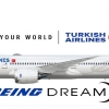 Boeing 787 9 Turkish airlines