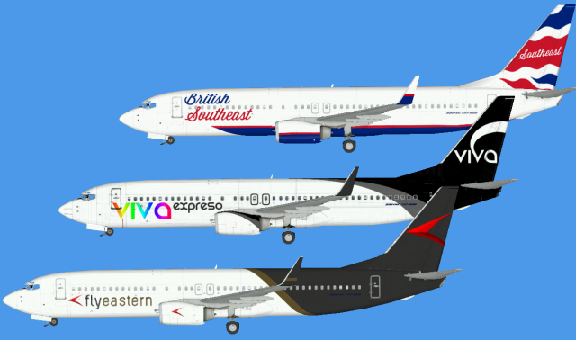 FSX repaints - Digital Project - Livery - Gallery - Airline