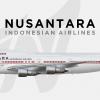 Nusantara Indonesian Airlines Boeing 747-300   PK-AYZ