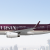 Airbus A319-100 | Fursan Airways الفرسان للطيران | A7-RZA