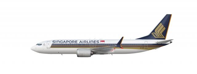 Singapore Airlines 737 Max 8