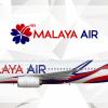 Malaya Air Boeing 737-800 Livery