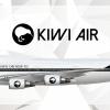 Kiwi Air Boeing 747-400 Livery