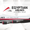Egyptian Airlines Boeing 747-400 Livery