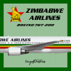 Zimbabwe Airlines Boeing 767-200 Livery (1990-2016)