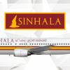 Sinhala Boeing 737-400 Livery