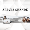 Ariana Grande Boeing 787-9 Livery