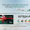 Introducing the new Afrika Nigeria SafariMiles credit card...