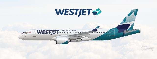 WestJet / Airbus A220-300