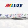 SAS Scandinavian Airlines / McDonnell Douglas MD-82