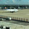 Lufthansa A320 Departing