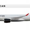 6. Airbus A350-900 | N851MA
