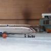 Delta A330 pushing back