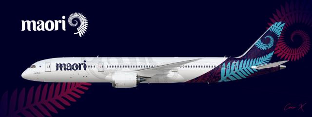 Maori Airways 787-9 (2018 Livery)