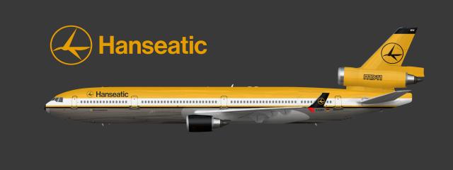 "Hanseatic McDonnell-Douglas MD-11 Combi ""1984-2002"""