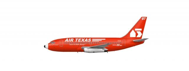 1969-1986 AIRTEXAS B737-200adv