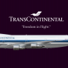 TransContinental Airlines Boeing 747-200 (Livery From1984-1996)