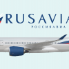 Rusavia Airbus A350-900 (Livery From 2010-Onwards)