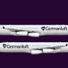 Germanluft Airbus A340-313X (Livery from 2005- Onward)