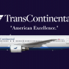 Transcontinental Airlines Boeing 767-200ER (Livery from 1996-2008)