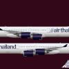 Air Thailand Airbus A340-600 (Livery from 2006-Onward)