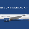 TransContinental Airlines Boeing 777-300ER (Livery from 2008 - )