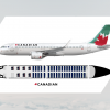 Canadian | A320 + Seatmap | '2014'
