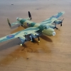 Avro Lancaster WWII Bomber (Scale - 1: 144)