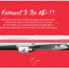 RedJet McDonnell Douglas MD-11 Farewell Livery
