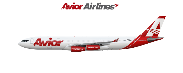 Airbus A340 300 Avior Airlines YV3292