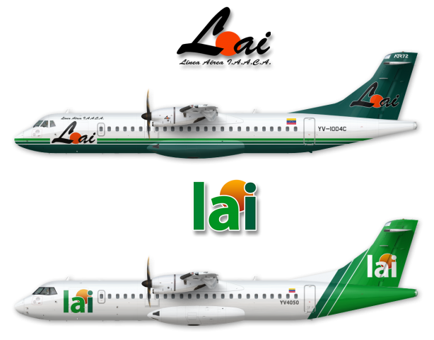 ATR 72 Lai Old & New Livery
