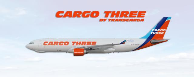 Airbus A330 200F Cargo Three - Transcarga Panama