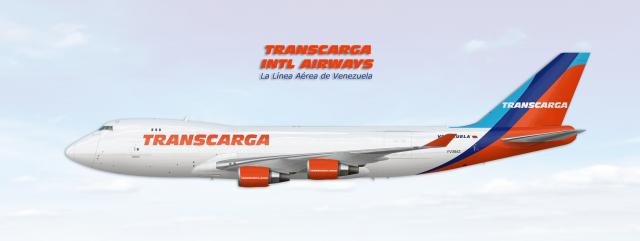 Boeing 747-400F Transcarga