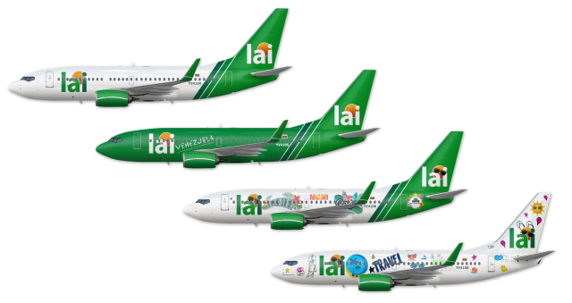 Lai Boeing 737-700 Liveries