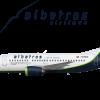 """Boeing 737-500 Albatros Airlines YV3001 """"Esmeralda"""""""