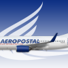 "Boeing 737-700 Aeropostal Alas de Venezuela ""White"""