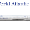 McDonnell Douglas MD-83 N802WA Laser Airlines operated by World Atlantic Airlines