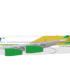 Airbus 340-200 by SAUDI Voyager (color 90 - 2000)