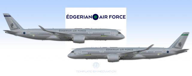 Édgerian Air Force, Airbus A350MRTT