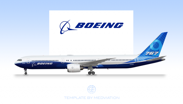 Boeing House Colours, Boeing 767-9