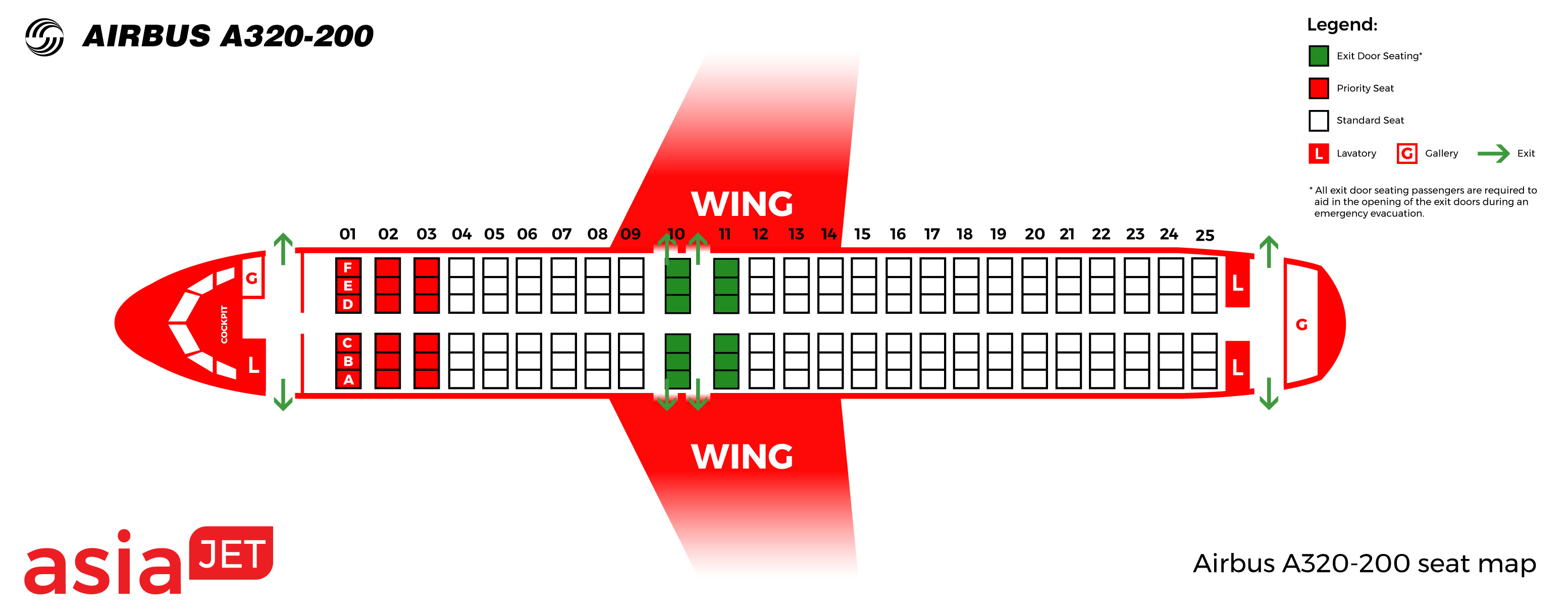 Схема самолета airbus a320 100 200