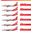 AsiaJet Airways Airbus A320-200 Special Liveries