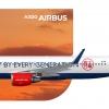 UOB x AsiaJet Airways Airbus A320-200 Special Livery