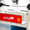 AsiaJet Airways Airport Trolley Graphic