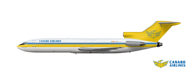 canaro airlines boeing 727 200 canaro airlines gallery rh airline empires com Boeing 707 Boeing 777