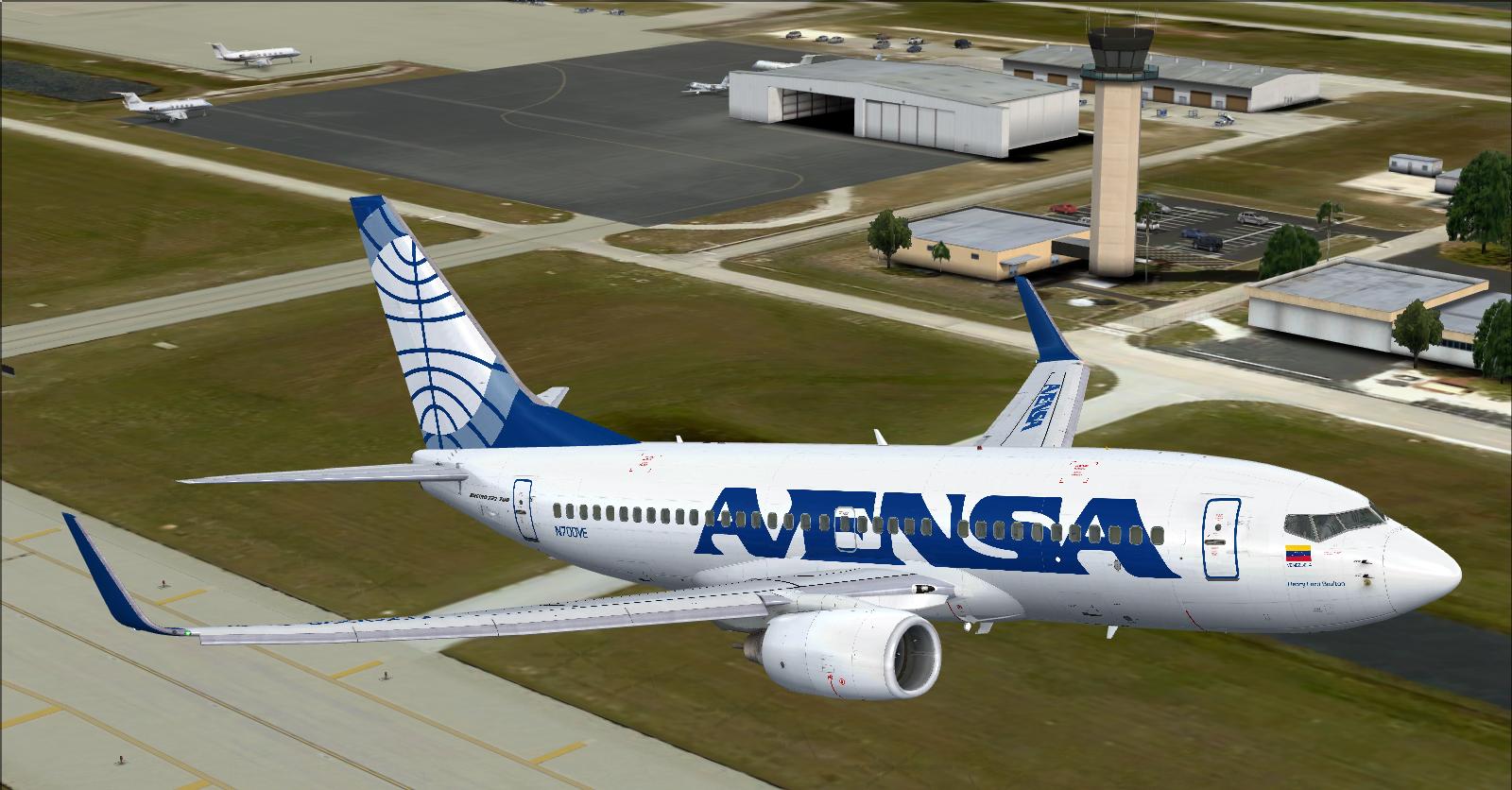 Avensa Boeing 737-700 T/O from Southwest Florida Intl