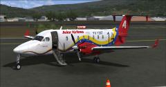Beechcraft 1900D Avior Airlines 14th Anniversary 1994-2008 Paramillo Airport