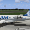 CRJ 700 Pan Am on RWY