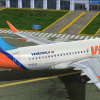 VIASA Airbus A319 in Maturin, Venezuela