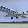 CRJ 700 Pan Am T/O from Orlando Intl